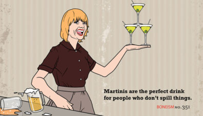 Martini Girl by Jon Rogers