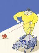Dog Walker by Satoshi Kambayashi