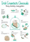Choccy Irish Cream Cheesecake Recipe by Jasmine Chin