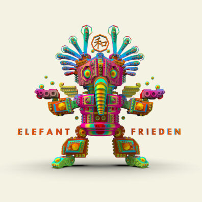 Elefant Frieden by Nathan Smith