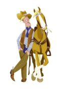 Cowboy by Mandy Millie Flockton
