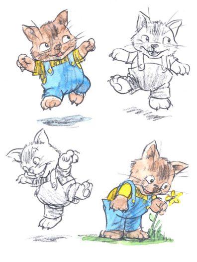 Cats by Bob Wilson