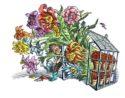 Flower Men by Bill Sanderson