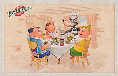 Bisto's Three Little Pigs by Pastiche