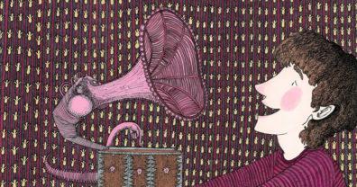 Gramophone illustration by Jonathan Leach