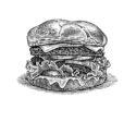 Burger by Dave Hopkins