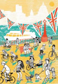 Cycle Lifestyle Cover by Hannah Lewis
