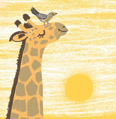 Giraffe by Hannah Lewis