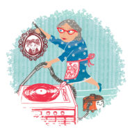 Granny from What Became of the Red Shoes by Hannah Lewis