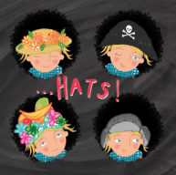 Hats! from What Became of the Red Shoes by Hannah Lewis