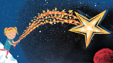 Shooting Star from What Became of the Red Shoes by Hannah Lewis