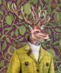 Stag by Mandy Millie Flockton