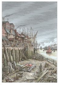 Boatyard with body by Dave Hopkins
