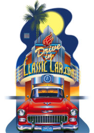 Classic Car by Garth Glazier