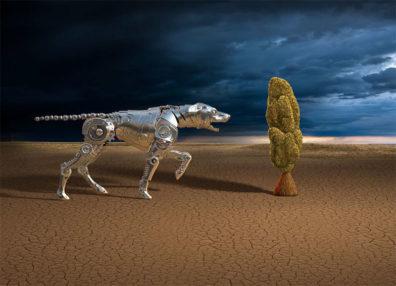 Robotic Dog by Marcel Laverdet - Rive Gauche Studio