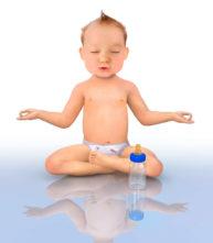 Meditation Baby by Marcel Laverdet - Rive Gauche Studio