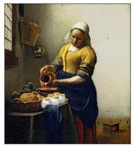 Vermeer Pastiche by Marcel Laverdet - Rive Gauche Studio