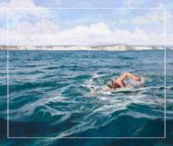 Swimming the Channel by Marcel Laverdet - Rive Gauche Studio