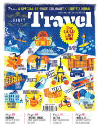 Luxury Travel Cover by Christopher Nielsen