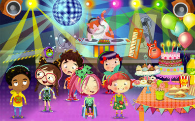 Peg & Pog Disco by Luella Wright