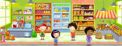 Peg & Pog Shop by Luella Wright