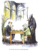 Chess Grim Reaper by Bob Wilson