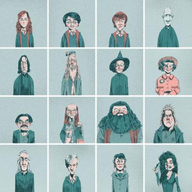 Harry Potter by Alexander Jackson
