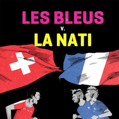 Les Bleus vs La Nati by Alexander Jackson