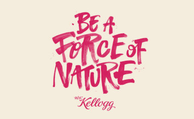 Be a Force of Nature script by Adam Carter