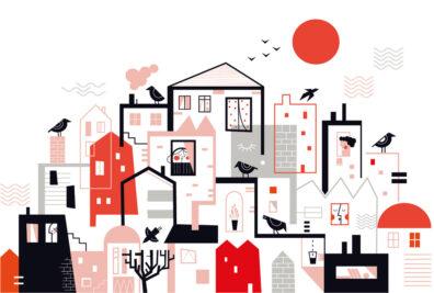 Town by Dominika Lipniewska