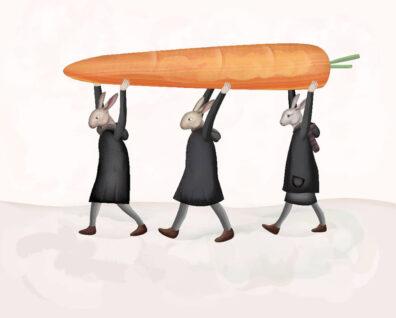 Carrot by Javier Gonzalez Burgos