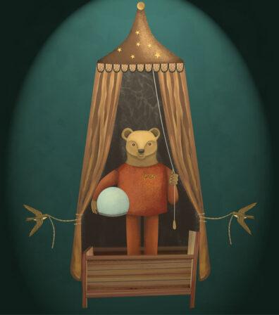Tent Bear by Javier Gonzalez Burgos