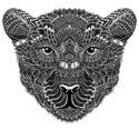 Flowing Leopard by Joan Tarrago