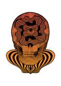 Psyche Skull by Joan Tarrago