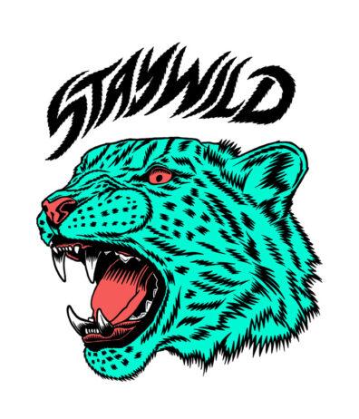 Stay Wild Jaguar by Joan Tarrago