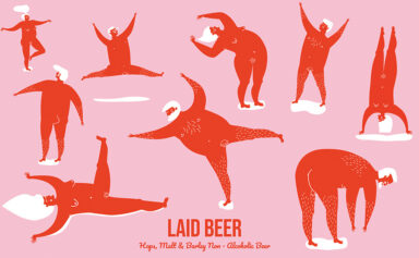 Laid Beer for Oh Beer Me by Jasmine Chin
