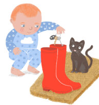 Alfie and the Wellies by Hannah Lewis