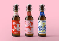Oh Beer Me Bottles by Jasmine Chin