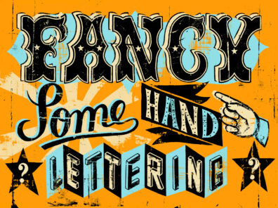Hand Lettering by Christopher Nielsen