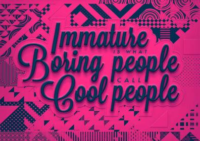 Immature by Mardo El-Noor