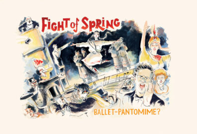 Fight of Spring by Linda Clark