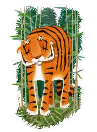 Tiger by Mandy Millie Flockton
