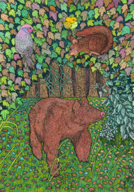 Birds Bear Squirrels by Jonathan Leach