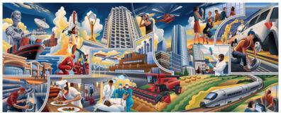 Business Mural by Garth Glazier