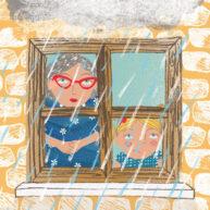 Raining by Hannah Lewis