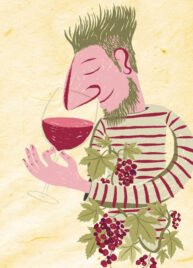 Wine Drinker by Chris Stonehill