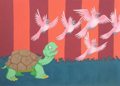Tortoise by Jonathan Leach