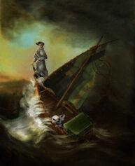 Aleksandr Orlov Meerkat Art by Pastiche
