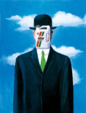 Castrol Magritte by Pastiche
