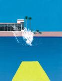 Hockney Splash by Pastiche